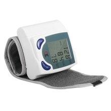 Home Automatic Wrist Digital Lcd Blood Pressure Monitor Portable Tonometer Meter For Blood Pressure Meter