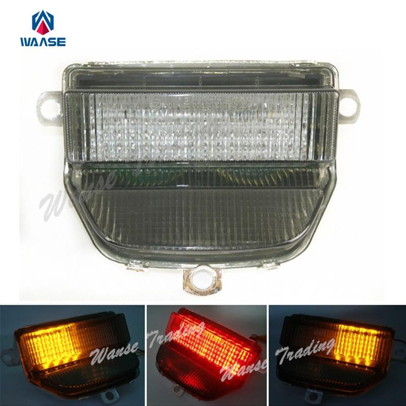 waase Tail Brake Turn Signals Integrated Led Light Lamp Smoke For 1993 1994 1995-1997 HONDA Fireblade CBR 900 RR 900RR CBR900RR disc brake pads set fit for honda cbr900 cbr900rr cbr 900 rr fireblade sc28 g034 1992 1993 sc33 h294 1994 1995 1996 1997