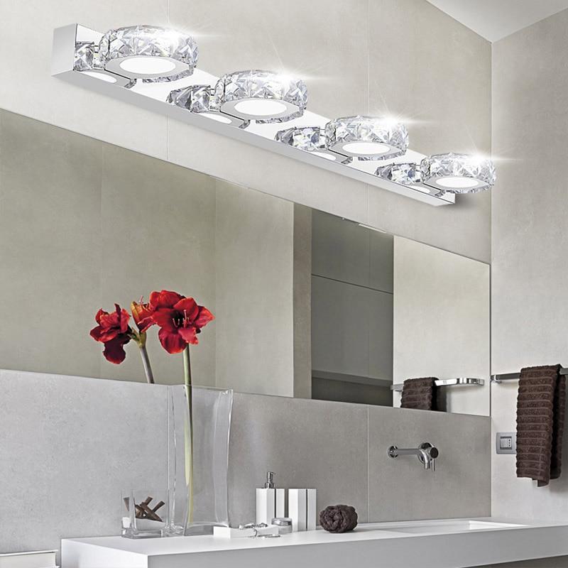 Bathroom Light Fixtures Crystal popular bathroom crystal lighting-buy cheap bathroom crystal