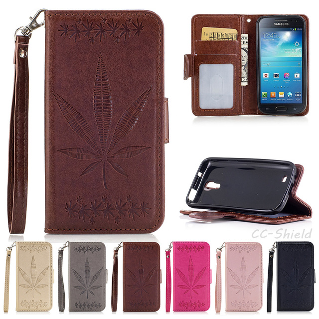 Case for Samsung Galaxy S4 S 4 mini S4mini Duos I9192 GT-i9190 GT-i9192 GT-i9195 Case Phone Leather Cover for Galaxy S 4mini