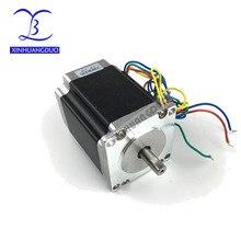 Nema 23 шаговый двигатель 2 фазы 4-Leads 270 Oz-in/180Ncm 76 мм CNC 3d принтер 23HS8430 1,8 deg XINHUANGDUO