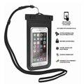 Nova limpar câmera do telefone à prova d' água bolsa dry case capa para 5.5 polegada sacos de telefone celular à prova d' água para iphone 4s 5 5s 6 6 s plus