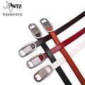 [Dwts] mulheres cinto boas cintos de couro cinto de couro real mulher cinturones mujer mulher cintos de couro genuíno para as mulheres
