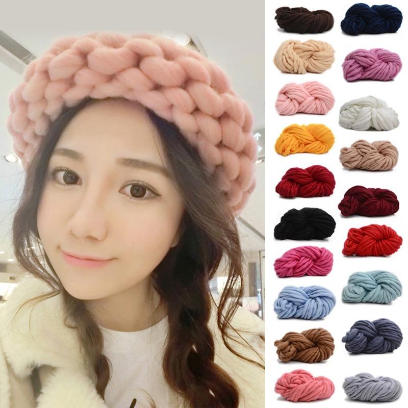 250G Super Thick Acrylic Yarn For Hand Knitting Soft Crochet Thread Knitting Merino Wool Yarns Chunky Cashmere Spaghetti Yarn