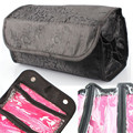 New 2016 Fashion Cosmetic Bag Casual Travel 4 Zippered Compartment Bag Makeup Purse Toiletries Bag Lucky Gifts Bolsa de viaje