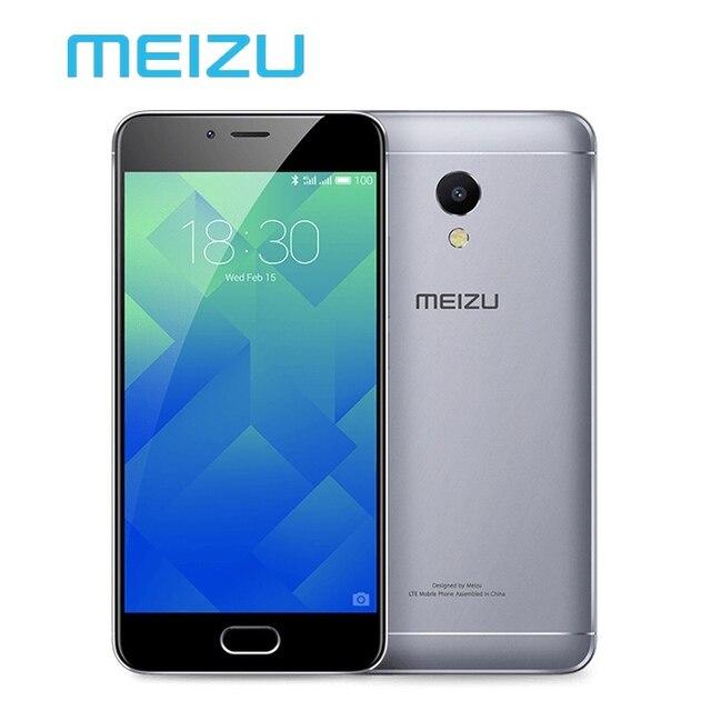 """Оригинальный Meizu M5s 3 ГБ 32 ГБ Мобильный Телефон Android MTK Окта основные 5.2 """"3000 мАч Сотовой Отпечатков Пальцев Быстро заряда"""