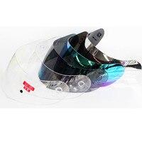 VCAN V121 Motorcycle Helmet Replacement Shield Full Face Helmet Glasses Sunny Lens UV Protected