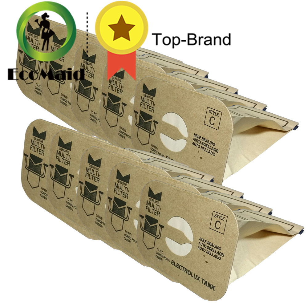 10pcs Dust Bag for Electrolux Style C DVC Vacuum Cleaner Bags Replacement Accessories Rubbish Bag rekam xproof dvc 380 цифровая видеокамера