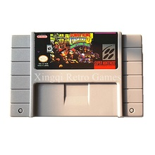 Super Nintendo SFC/SNES Game Donkey Kong Country 2 Diddy's Kong Quest Video Game Cartridge Console Card US English Version(China)