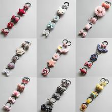 6pcs/set New Fashion Baby Delicate animal flower Elastic Hair Band Rope Accessories Children Q6