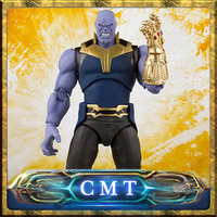 CMT Origianl Bandai Tamashii Nations Marvel Conics S.H.Figuarts SHF Sanos (Avengers / Infinity War) Action Figure Anime PVC Toys