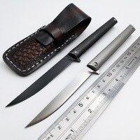 JSSQ M390 Blade Folding Knife Titanium Handle Ceramic Ball Bearing Pocket Knives Outdoor Survival Hunting Knife Camping EDC Tool