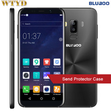"BLUBOO S8 RAM 3GB+ROM 32GB Dual Rear Cameras Fingerprint Identification 5.7"" Android 7.0 MTK6750T Octa Core up to 1.5GHz 4G"