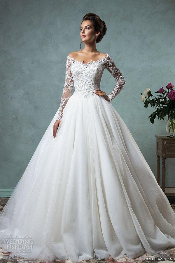 Aliexpress.com : Buy Vestido De Novia 2017 Cheap Lace Wedding ...