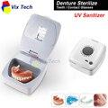 UV desinfectante esterilizador para Prótesis dental dientes/cabeza del cepillo de dientes/Contras. esterilizador uv, caja Portátil de control automático