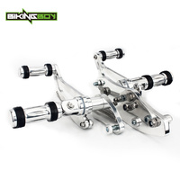 BIKINGBOY Forward Controls Footpegs for Kawasi VN800 Vulcan 800 B Classic / E Drifter VN800A 95 16 15 14 13 12 11 10 09 08 07 06