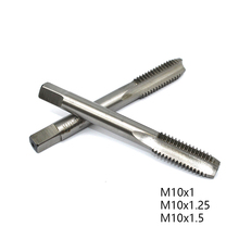 1PC M10 HSS Tap Straight Flute Machine Tap M10X1.25 M10X1 M10X1.5 Metric Tap Drill Thread Die Tap Right Screw Plug Hand Tool m21 x 1 5 hss left hand thread tap