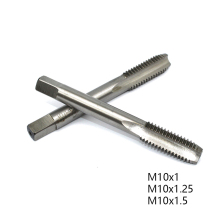 1PC M10 HSS Tap Straight Flute Machine Tap M10X1.25 M10X1 M10X1.5 Metric Tap Drill Thread Die Tap Right Screw Plug Hand Tool стоимость