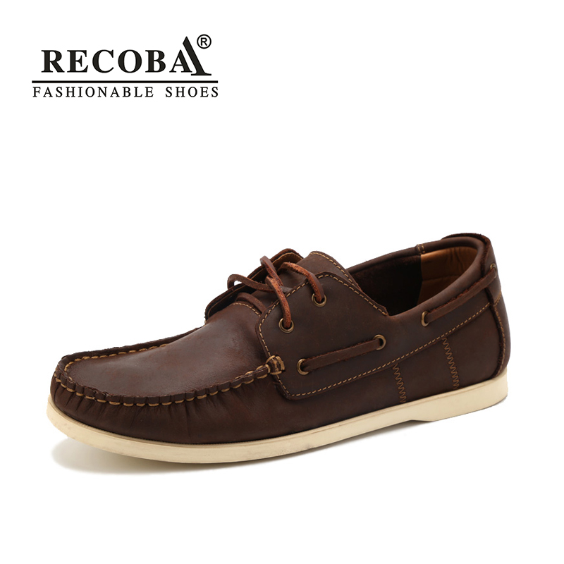 Men shoes casual summer genuine leather brown boat shoes men big size 45  flat slip on loafers male boat shoes dockside shoes women and men s casual flat shoes loafers fisherman espadrilles boat shoes men lazy hemp rope weave shoes size 35 45