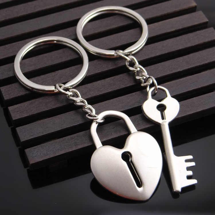 Novos Homens Saco chave Titular chave de Metal de Alta Qualidade em forma de Coração Charme Acessórios Hot Mulheres Melhor Presente Casal Jóias K1919