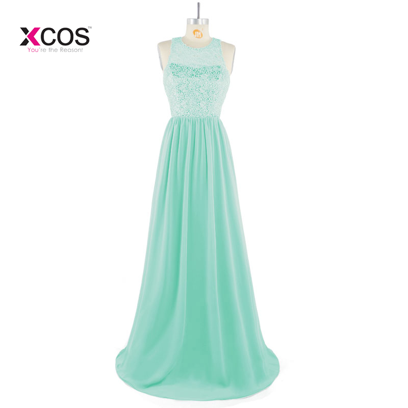 Robe Demoiselle D'honneur Elegant Mint Green Lace   Bridesmaid     Dresses   2018 Cheap Wedding Party   Dress   Robe de Soiree