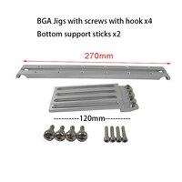 Universal BGA PCB bracket clamps PCB holder fixture jig for BGA reworking station BGA reballing accessory for IR6000 IR6500 IR90