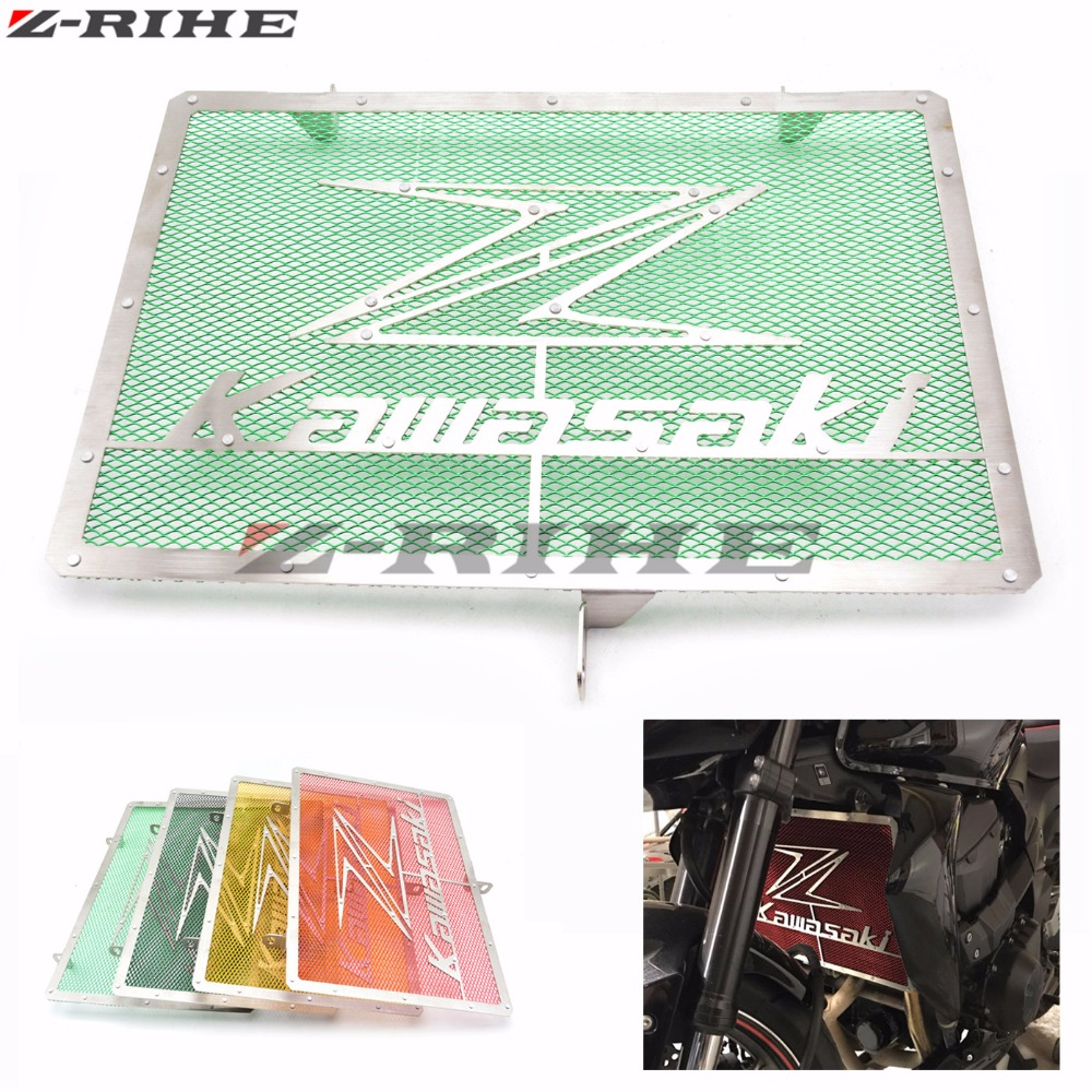 MOTO Radiator Protection Cover Grill Guard Grille Protector For Kawasaki Z750 Z1000 2007 2008 2009 2010 2011 2012 2013 2014 2015 kemimoto cbr 1000rr aluminum radiator grills guard cover grille for honda cbr1000rr 2008 2009 2010 2011 2012 2013 2014