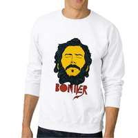 Top Brand Daft Punk Men Sweatshirt Bon Iver Printed 3D Sweatshirts Casual Design Hoodie Street Wear