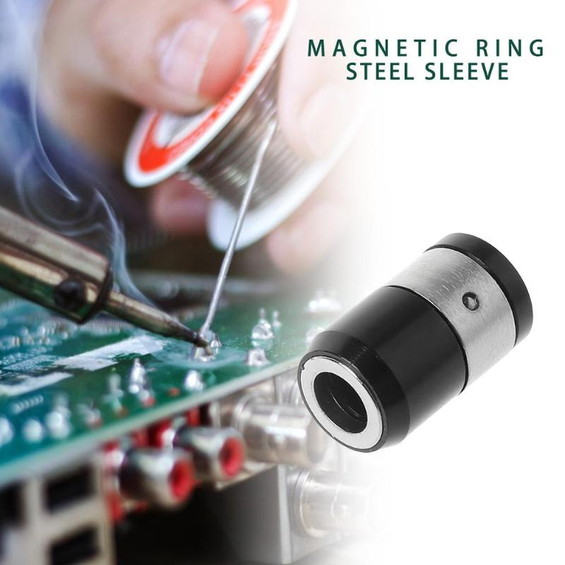 1pc Magnetic Ring 1/4 Inch Strong Magnetizer Electric Hex Screwdriver Bits Suitable For Hexagonal Screwdriver Heads