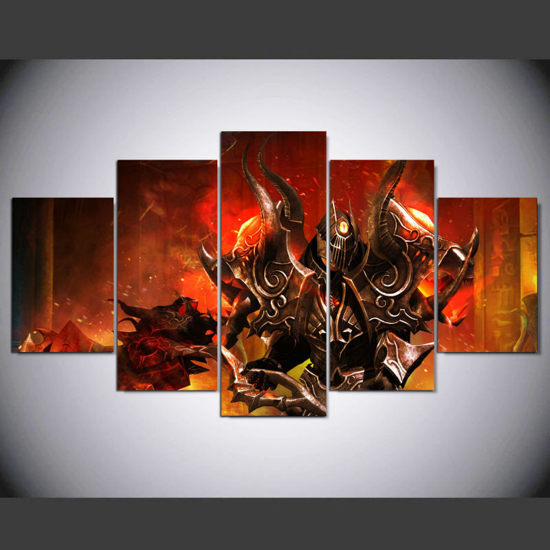 5 Piece Canvas Painting Art Picture Posters and Prints Home Decoration Livingroom Anime Gaming Tagged Anjuna Wall Art ny-100