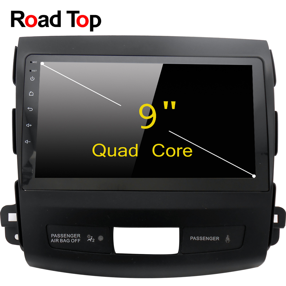 Road Top Android 6.0 System 9 Inch Car GPS Navigation DVD