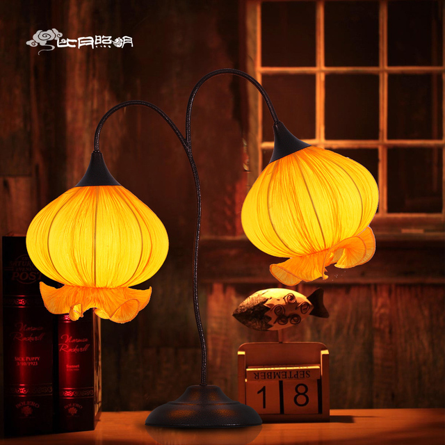 Cloth Stand For Bedroom Creative Decoration chinese table lamp lighting creative than month neoclassical ocean