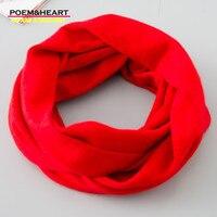 POEM HEART2017 New Autumn Winter Cashmere Scarf Super Elastic Women Pure Color Female Neckerchief Keep Warm