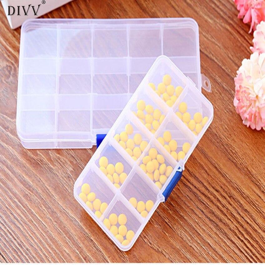 Divv 7 дней в неделю три размера Таблетки Медицина Box держатель для хранения Организатор Контейнер Дело Портативный Happy Подарки Высокое качест...