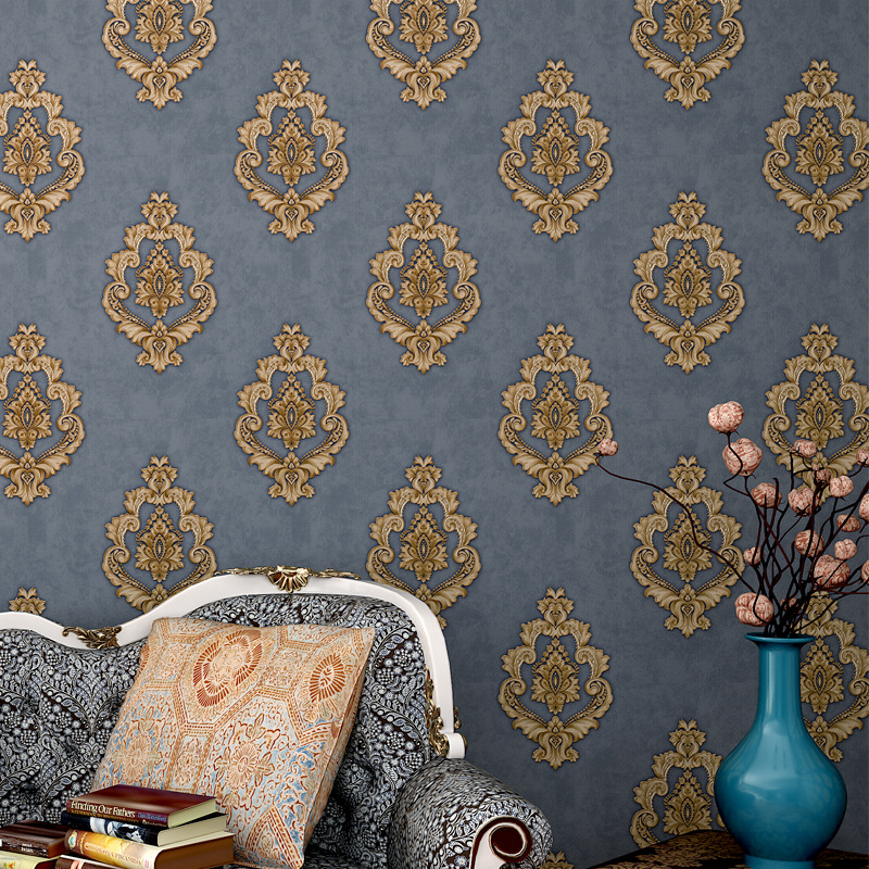 Top Quality  Fabric Mural New wallpaper modern Damask wall paper papel de parede tapete bedroom  white,beige,coffee 53x1000cm white mural wallpaper modern stripe flock embossed non woven wall paper papel de parede tapete bedroom decoration 53x1000cm