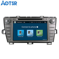 Aotsr Android 8.1 Car DVD Player GPS Navigation For TOYOTA Prius 2009 2013 Radio Multimedia Auto Radio Head Unit 2 Din stereo