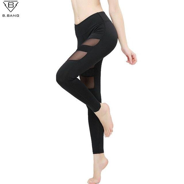 da83dfec4b B. bang kompresja running rajstopy kobieta spodnie damskie spodnie yoga gym  yoga legginsy kobieta sport