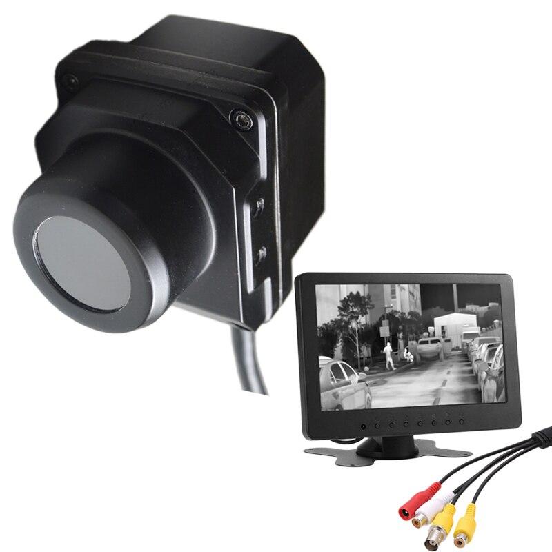IP67 infrarroja termográfica Cámara coche vehículo de carretera de la visión nocturna de conducción Scout de caza de búsqueda de infrarrojos cámara de imagen térmica