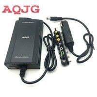 100 w universal laptop AC DC power adapter laptop carregador de carro para o portátil com USB Charger Power Plug UE Grátis grátis