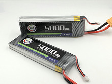MOS RC 3s lipo battery 11.1v 5000mah 35c for rc airplane rc helicopter free shipping