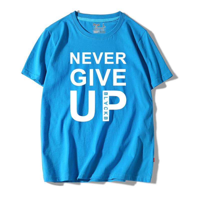 2019 Champions Liverpool Salah You'll Never Walk Alone Never Give Up T Shirt 100% Cotton O-Neck T-Shirt Homme