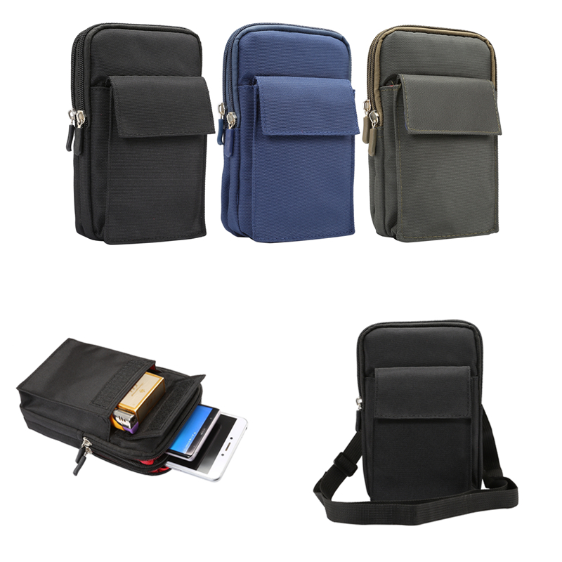 For Tactical Holster Military Molle Hip Waist Belt Bag Wallet Pouch <font><b>Purse</b></font> Phone Case For Multi Smart Phone <font><b>Smartphone</b></font> 6.4/7 inch