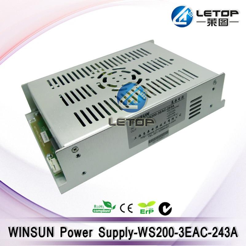 HOT SALE Outdoor printer machine Winsun Power Supply WS200 3EAC 243A