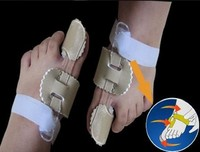 قبل النوم الورم يعيد تنظيم الأوتار مشدودة جهاز تصويب للتعديل أصابع القدم التقويمية العناية بالقدم المنتج زميله.