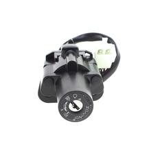 Moto Motorcycle Ignition Switch Lock Set 2 Master Keys For Yamaha XJR400 1993-1999 94 95 96 XJR1200 1995-1998 96 97 XJR1300 1999 цены