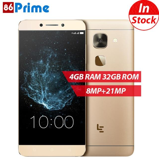 Оригинальный LeTV X626 LeEco Le S3 мобильный телефон 4 г LTE Android 6.0 телефон Дека Core смартфон 4 ГБ 32 ГБ 5.5 дюймов fhd 21MP телефона