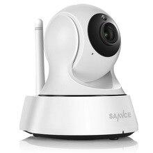 Sannce дома безопасности IP Камера Wi-Fi Беспроводной мини сети Камера наблюдения Wi-Fi 720 P ночного видения видеонаблюдения Камера радионяня