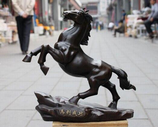 Xd 002275 Cina 100% Bronzo Ricchezza Fly Galoppo Cavallo Corsa Palazzo di Buon Auspicio Art StatuaXd 002275 Cina 100% Bronzo Ricchezza Fly Galoppo Cavallo Corsa Palazzo di Buon Auspicio Art Statua