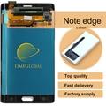10 шт. 100% испытания в Исходном для Samsung Galaxy Note edge n9150 ЖК-дисплей с сенсорным экраном Дигитайзер серый/белый freeshiping