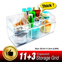 11 11 Sale Clear Make Up Case Cosmetic Organizer Jewelry Holder Storage Acrylic Cabinet Box Easy